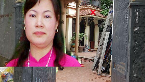 Ngôi nhà của vợ chồng nữ bí thư Đảng ủy cửa đóng then cài - Sputnik Việt Nam