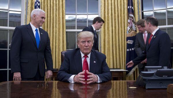Donald Trump ở Nhà Trắng - Sputnik Việt Nam