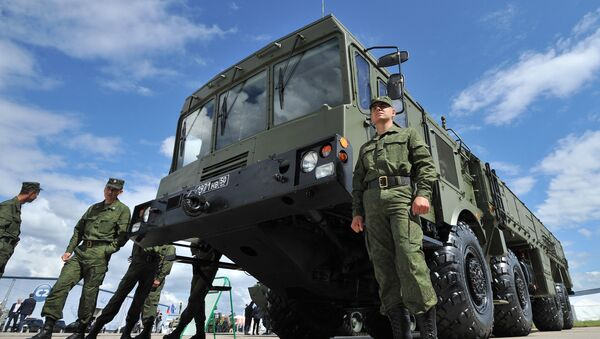 "Tổ hợp tên lửa ""Iskander E"" - Sputnik Việt Nam"