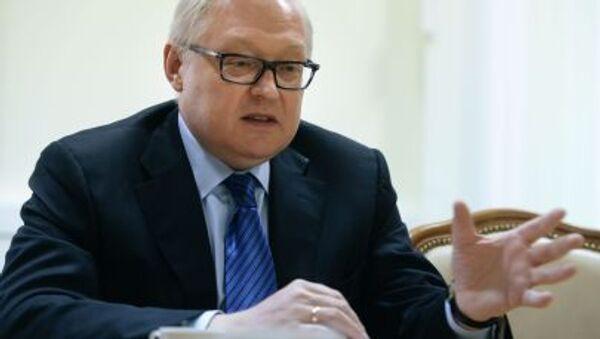Thứ trưởng Ngoại giao Nga Sergei Ryabkov - Sputnik Việt Nam