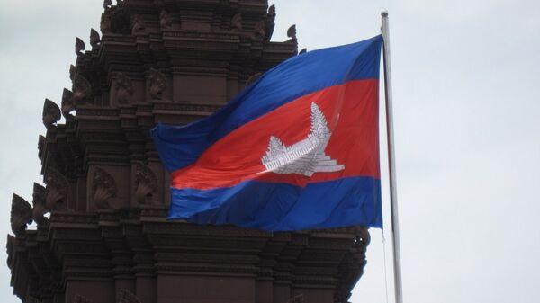 Quốc kỳ Campuchia - Sputnik Việt Nam