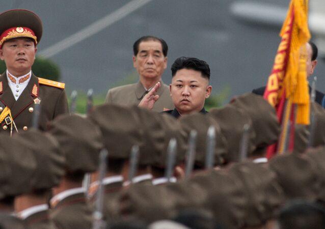 Quân đội của Bắc Triều Tiên với Kim Jong-un