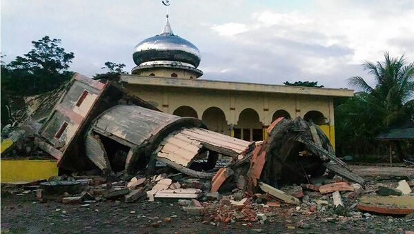 Động đất 5,5 độ xảy ra tại Indonesia - Sputnik Việt Nam