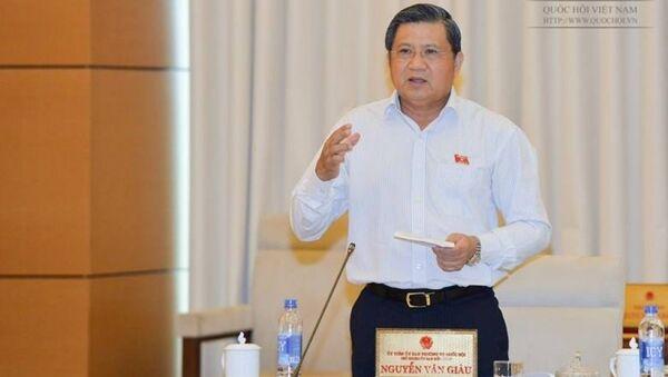 Chủ nhiệm Uỷ ban Đối ngoại Nguyễn Văn Giàu - Sputnik Việt Nam