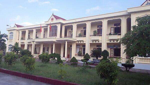 Trụ sở UBND xã An Bình - Sputnik Việt Nam