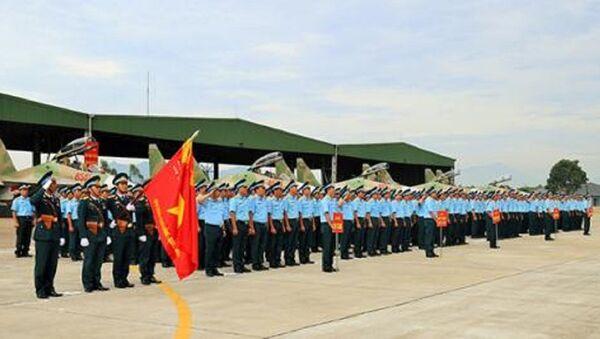 Tiêm kích Su-30 trong diễn tập. - Sputnik Việt Nam