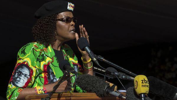 Đệ nhất phu nhân Zimbabwe Robert Mugabe - Sputnik Việt Nam