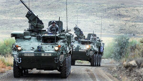 US  Strykers - Sputnik Việt Nam