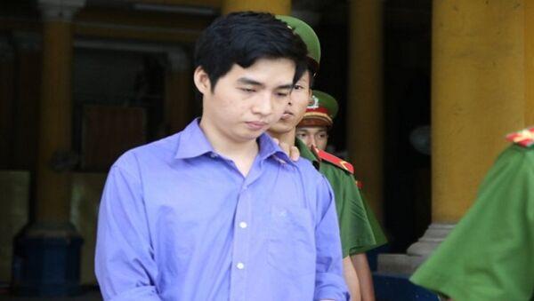 Bị cáo Tây tại phiên tòa xét xử - Sputnik Việt Nam