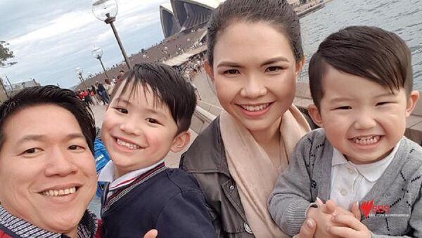 Gia đình anh Tô Quốc Vinh - Sputnik Việt Nam
