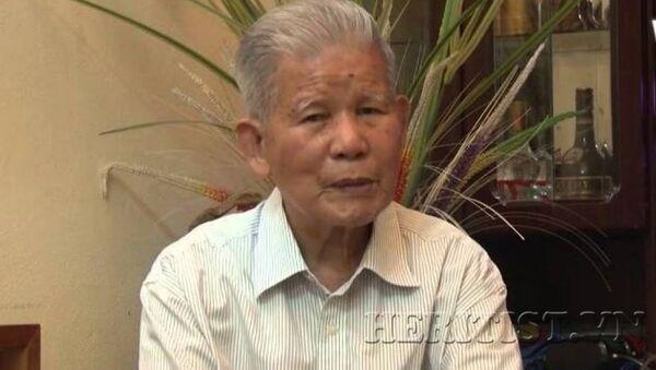 GS.TSKH Đặng Huy Huỳnh. Ảnh: Trung tâm Di sản các nhà khoa học Việt Nam - Sputnik Việt Nam