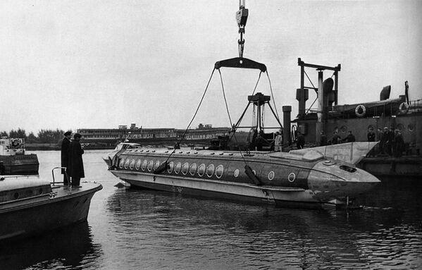 Tàu thí nghiệm Chaika - Sputnik Việt Nam