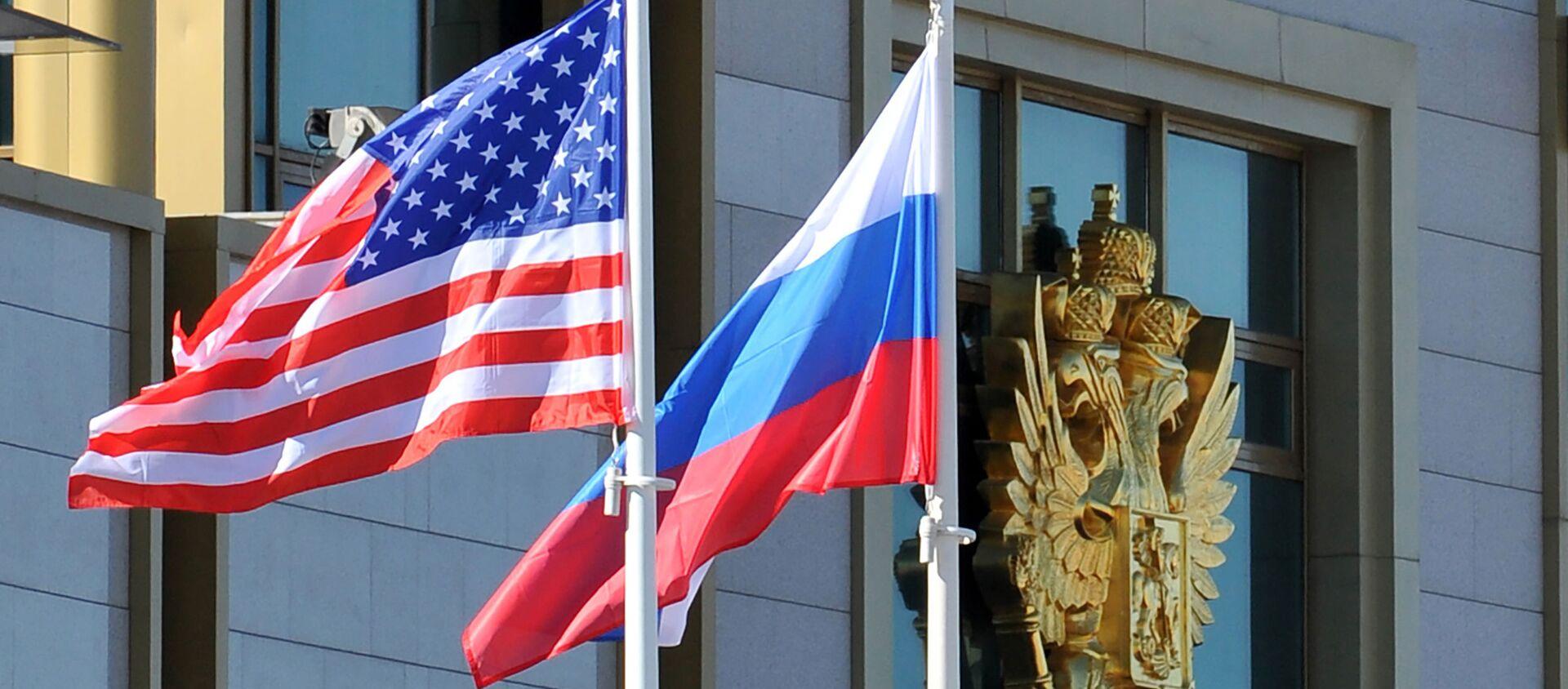 Cờ Nga và Mỹ - Sputnik Việt Nam, 1920, 23.04.2021