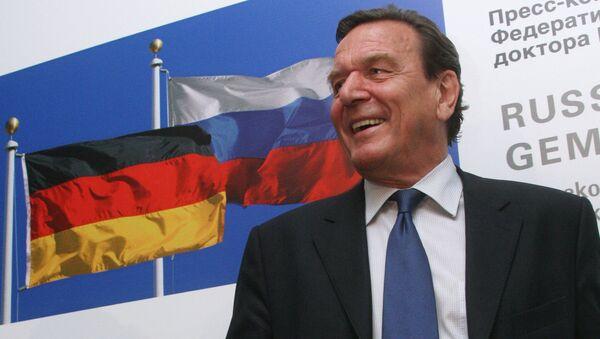 cựu Thủ tướng Đức Gerhard Schroeder - Sputnik Việt Nam