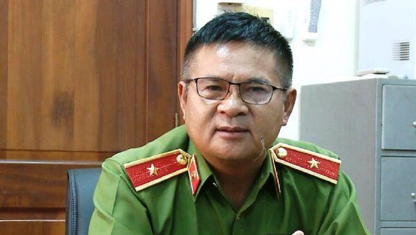 Thiếu tướng Hồ Sỹ Tiến, Cục trưởng Cục Cảnh sát hình sự - Sputnik Việt Nam