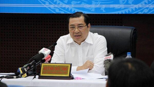 Chủ tịch Đà Nẵng Huỳnh Đức Thơ - Sputnik Việt Nam