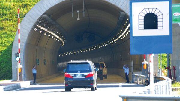 Ngày 21/8, hầm Đèo Cả thông xe toàn tuyến, chính thức đưa vào khai thác - Sputnik Việt Nam