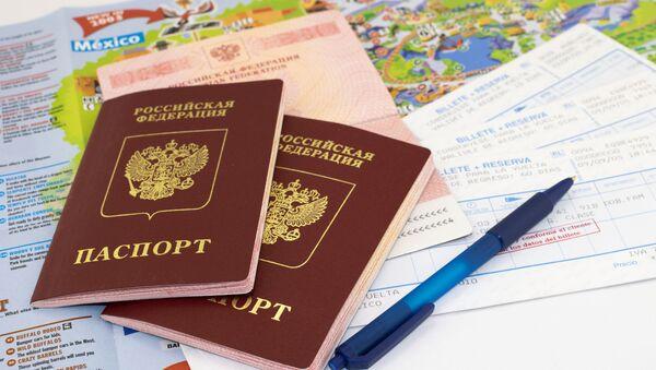 Hoa Kỳ đình chỉ cấp visa không di dân ở Nga - Sputnik Việt Nam