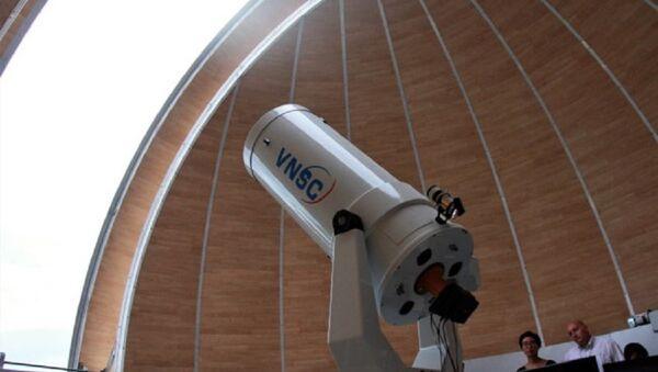Kính thiên văn được đặt tại Đài thiên văn Nha Trang. - Sputnik Việt Nam