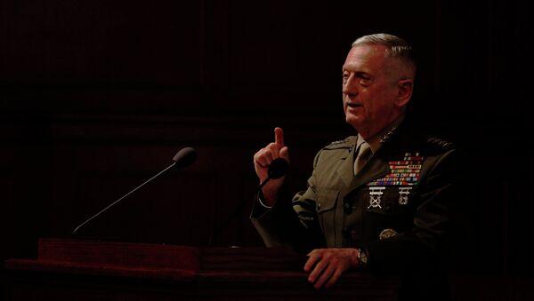 Bộ trưởng Quốc phòng Hoa Kỳ James Mattis - Sputnik Việt Nam