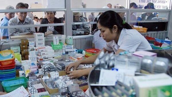 VN Pharma đã từng cung cấp rất nhiều loại thuốc cho các bệnh viện công - Sputnik Việt Nam