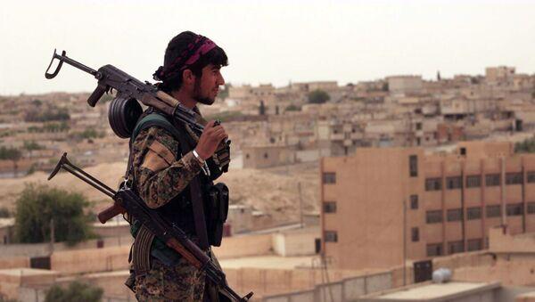 Quân nhân lực lượng Dân chủ Syria - Sputnik Việt Nam