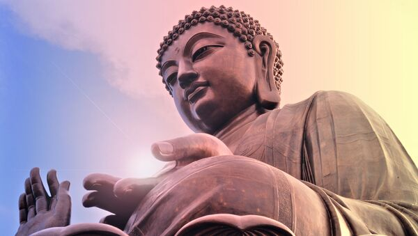 Tượng Phật, Trung Quốc - Sputnik Việt Nam