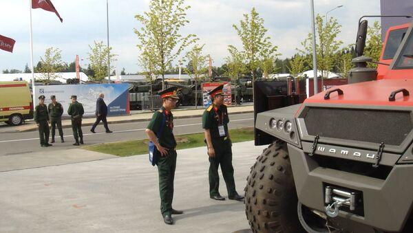 Khai mạc Diễn đàn Kỹ thuật quân sự Quốc tế Quân đội-2017 - Sputnik Việt Nam