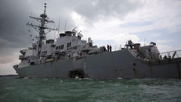 Tàu USS John McCain - Sputnik Việt Nam