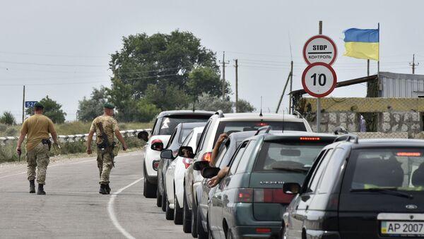 biên giới giữa Nga và Ukraine - Sputnik Việt Nam