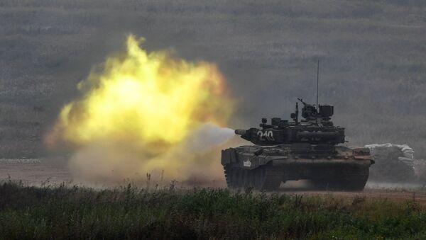 Kỹ thuật xe tăng tại Diễn đàn Quân đội-2017 - Sputnik Việt Nam