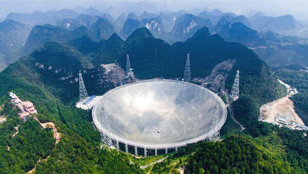 đĩa vệ tinh-kính thiên radio FAST - Sputnik Việt Nam