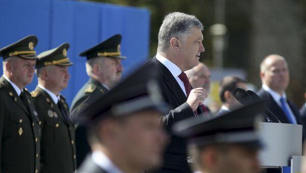 Tổng thống Ukraina Piotr Poroshenko - Sputnik Việt Nam