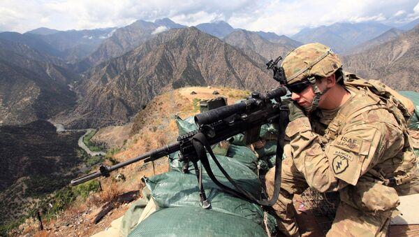 Quân nhân Mỹ tại Afghanistan - Sputnik Việt Nam