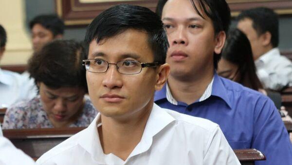 Ông Cao Toàn Mỹ tại tòa. - Sputnik Việt Nam