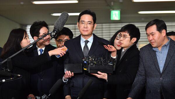 người đứng đầu tập đoàn Samsung Lee Jae-yong - Sputnik Việt Nam