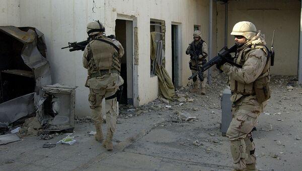 quân đội Mỹ ở Iraq - Sputnik Việt Nam