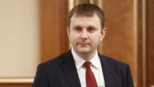 Bộ trưởng Bộ Phát triển Kinh tế của Nga Maxim Oreshkin - Sputnik Việt Nam
