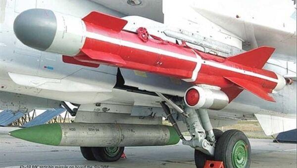 Tên lửa chống hạm Kh-59MK lắp trên cường kích Su-24 - Sputnik Việt Nam
