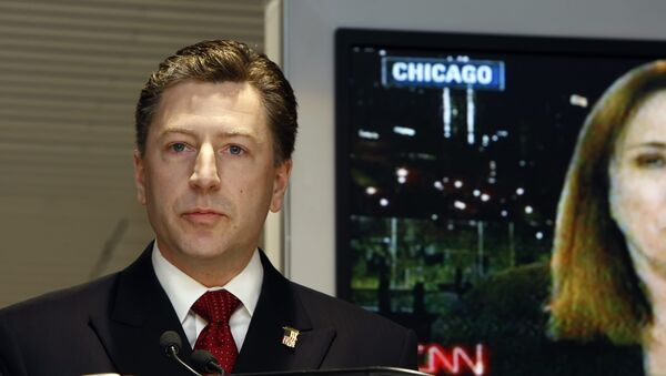 đặc phái viên Hoa Kỳ về Ukraina Kurt Volker - Sputnik Việt Nam