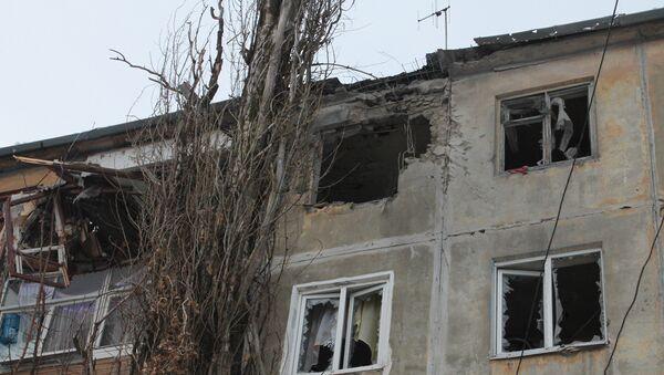Donetsk after shelling - Sputnik Việt Nam