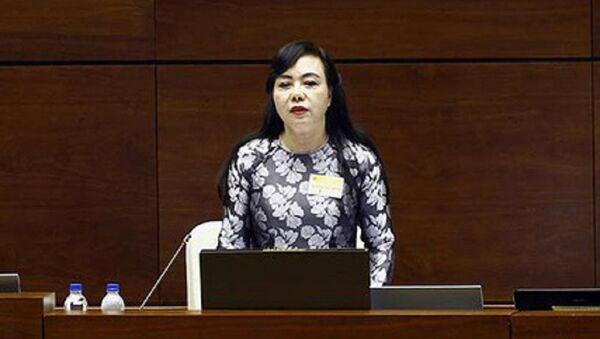 Bộ trưởng Y tế Nguyễn Thị Kim Tiến - Sputnik Việt Nam