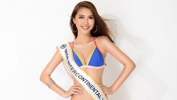 Tường Linh sẽ đại diện Việt Nam đi thi Hoa hậu Liên lục địa - Sputnik Việt Nam