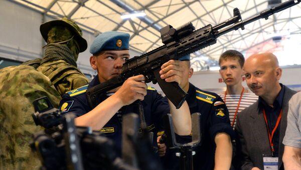 Tập đoàn Kalashnikov tại Diễn đàn Quân đội -2015 - Sputnik Việt Nam
