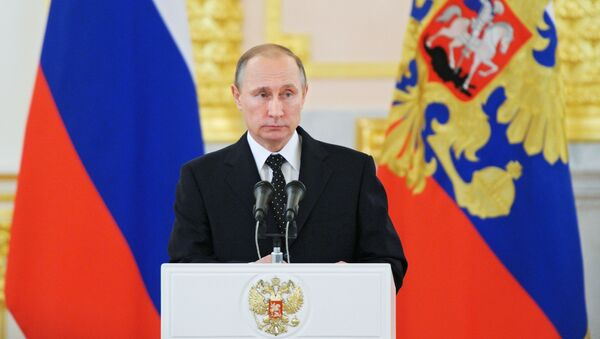 Tổng thống LB Nga Vladimir Putin - Sputnik Việt Nam