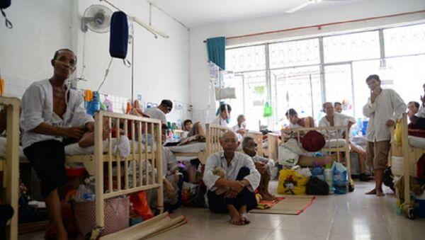 Bệnh nhân ung thư tại Bệnh viện Ung bướu TP.HCM - Sputnik Việt Nam