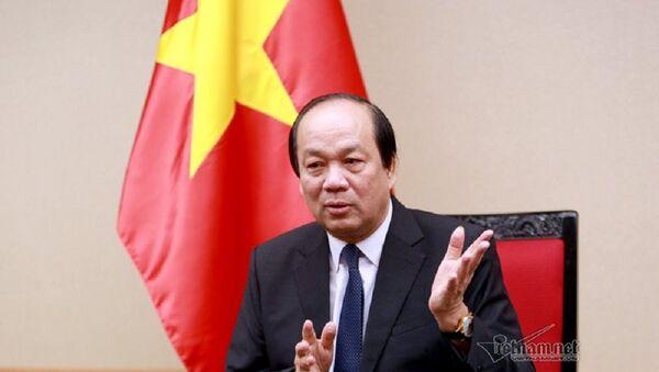 Bộ trưởng, Chủ nhiệm VPCP Mai Tiến Dũng - Sputnik Việt Nam