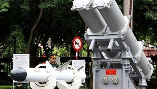 Tên lửa KCT 15 do Việt Nam tự sản xuất. - Sputnik Việt Nam