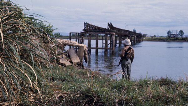 biên giới giữa nước Cộng hòa Dân chủ Việt Nam và miền Nam Việt Nam - Sputnik Việt Nam