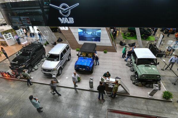 Gian triển lãm UAZ tại Moscow Off-road Show. - Sputnik Việt Nam